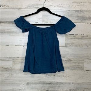 Madewell Off The Shoulder Top size Small